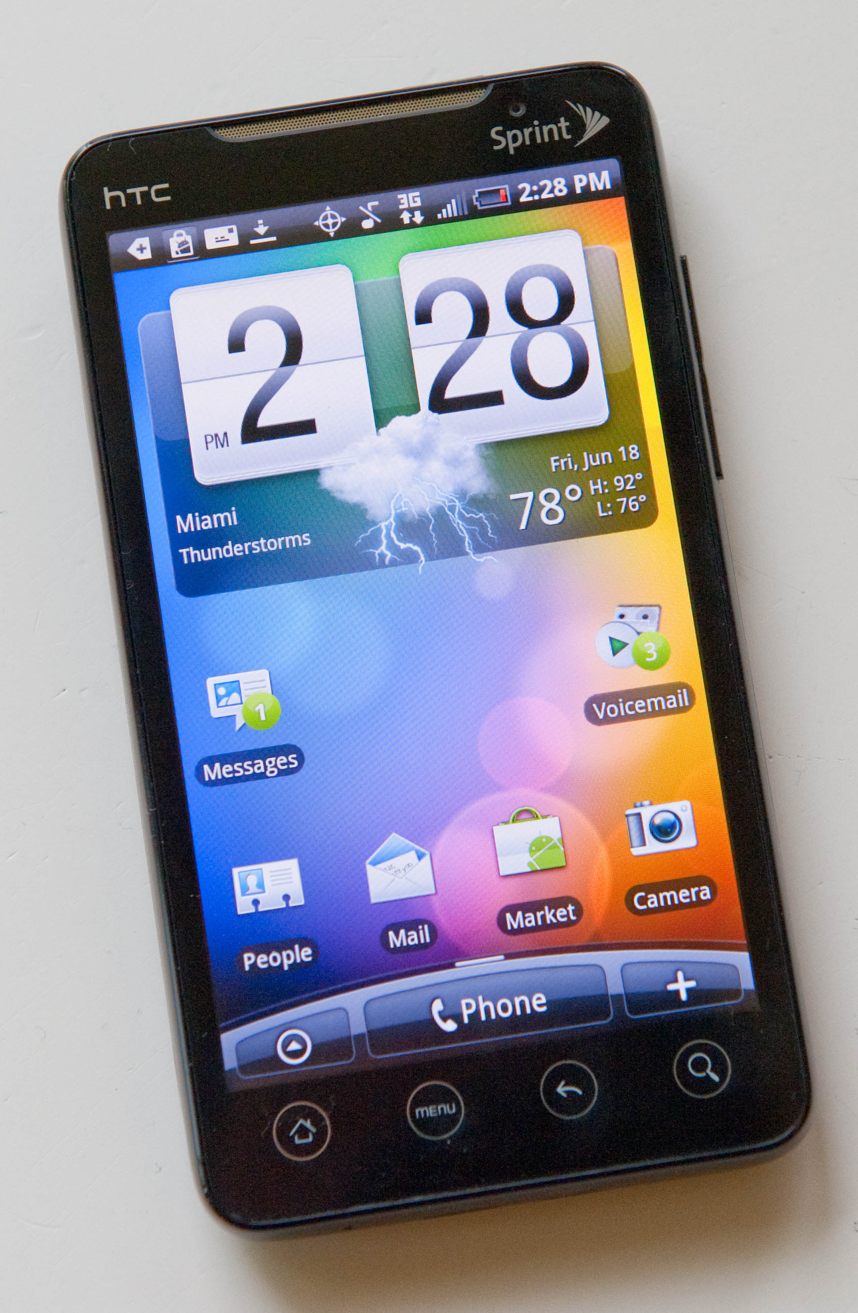 review  sprint nextel u2019s htc evo 4g smartphone is a force