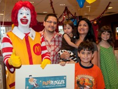 Some Fun and photos from yesterday's wonderful PapiBlogger Send Off with Ronald McDonald's Thumbnail