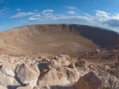 Day 8 of Road Trip Takes Us to Arizona Border Crossing and Visit to Meteor Crater Thumbnail
