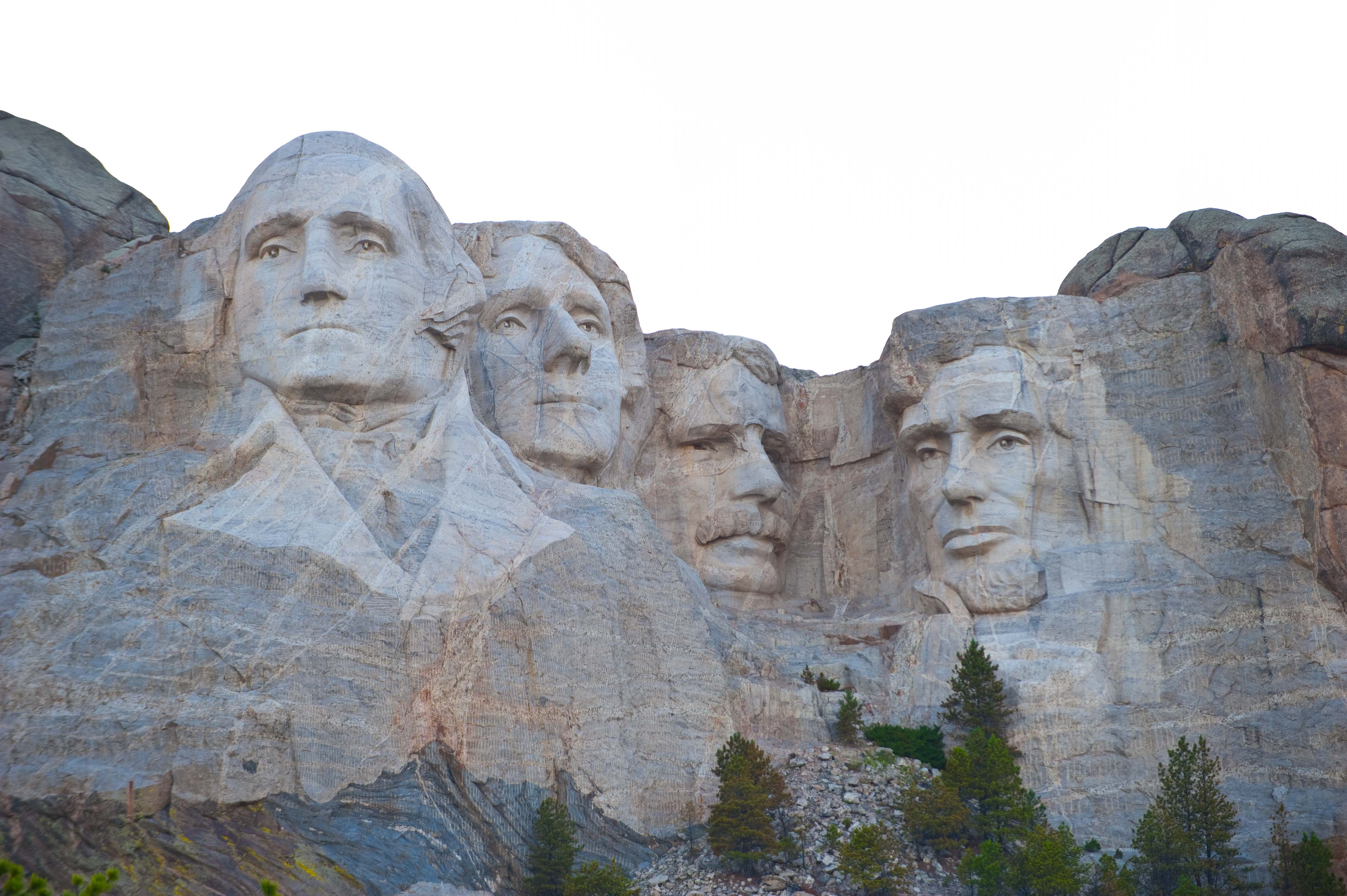 the creation of mt rushmore There are many interesting facts behind the faces of the mount rushmore national  the 'behind the scenes' of the construction of this monumental creation.