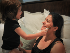 Photo Moment: Briani Does Her Mommy's Make-up for Mother's Day Thumbnail