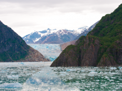 Day 16 of the Miami to Alaska Family Road Trip: Our First Awesome Encounter with an Alaskan Glacier Thumbnail