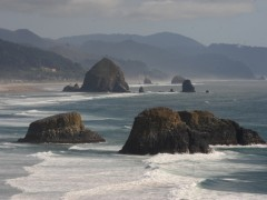 Day 22 of Miami to Alaska Family Road Trip: The Evil Blister and Haystack Rock Thumbnail