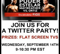 Verizon calling all boxing fans: Join us for a knock-out twitter party! Thumbnail
