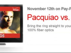 Win a flat-screen TV at the Pacquiao vs. Marquez PPV #SomosFiOS Twitter Party on Tues. Nov. 8th Thumbnail