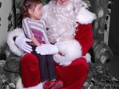 Family Snapshot: Briani Tells Santa How Good She's Been Thumbnail