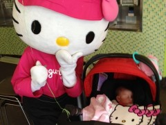 Naomi Photo Journal Day 37: Baby meets Hello Kitty Thumbnail
