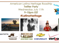 Join us for the American Latino Heritage Roadtrip Twitter Party! Thumbnail