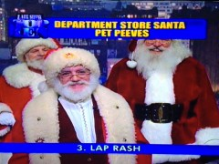 Letterman's Hilarious Top 10 List of Department Store Santa Pet Peeves Thumbnail