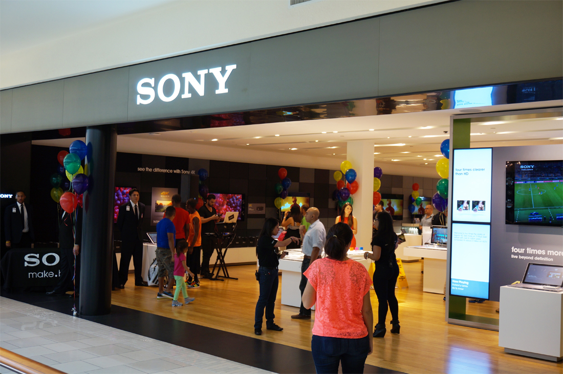 Sony stores reboot with engaging, airy redesign