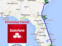 We're headed on a Big Thanksgiving Family Road Trip thru St. Augustine, Savannah and Charleston – #HolidayDriving Thumbnail