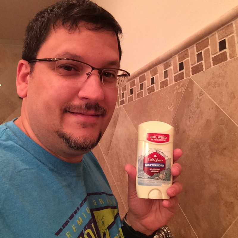 Me and my Old Spice