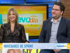 PapiBlogger joins Un Nuevo Dia morning show to discuss Sprint Latino's Open World Plan Thumbnail