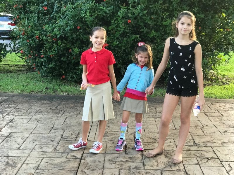 Naomi's First Day of School - Eclipse Day